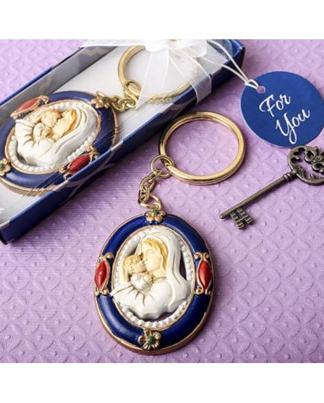 Madonna & Child Key Chain