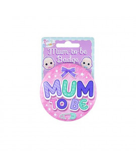 BABY SHOWER MUM TO BE BADGE