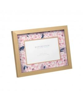 """Photo Frame Swan Lake Pink & Floral 6""""x4"""""""