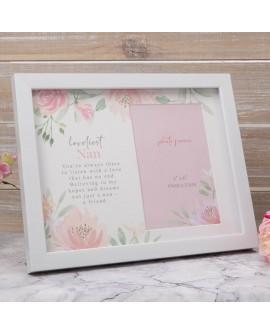 """Mother's Day Photo Frame  6""""x4"""" Loveliest Nan"""