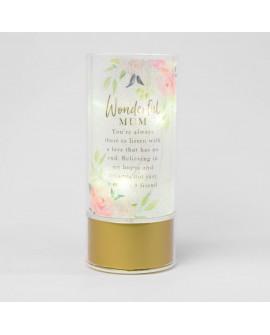 Peaches & Cream Tube LED Light - Mum