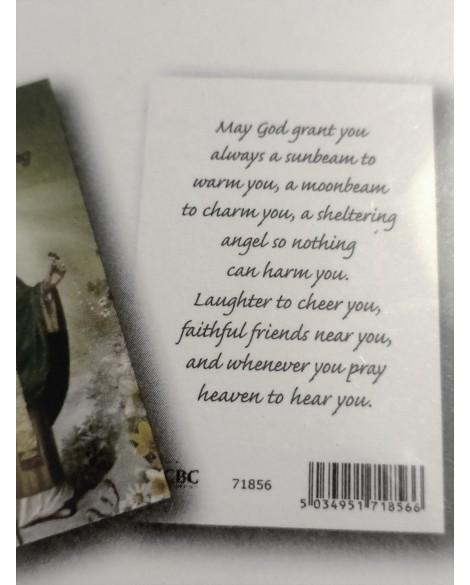 St Patrick's Day Card & Prayer Card Set