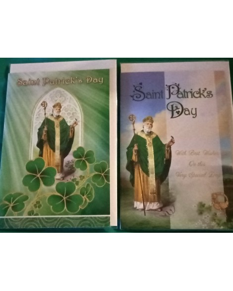 St Patrick's Day Card Set 2 Different Designs