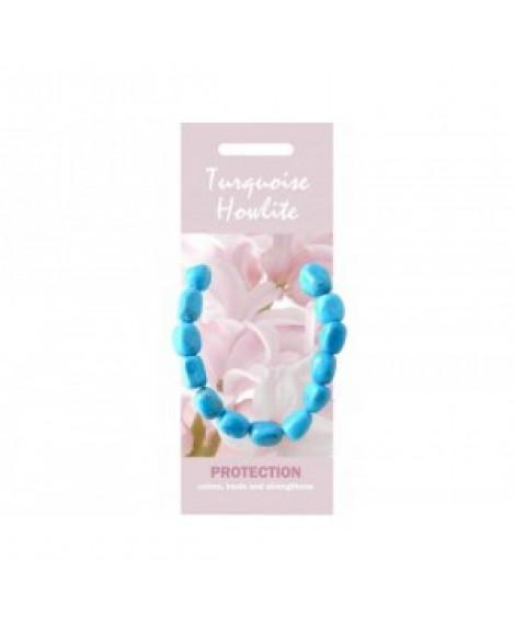 Howlite Turquoise Stone Bracelet