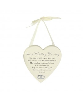 Wedding Gift Irish Blessing Plaque