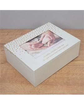 Bambino Little Star Keepsake Photo Box
