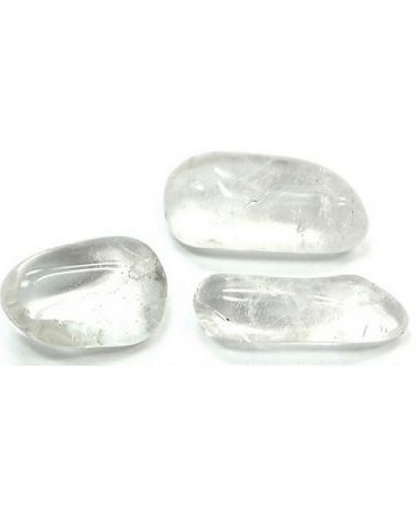 CLEAR QUARTZ  CRYSTAL QUARTZ  TUMBLE STONE