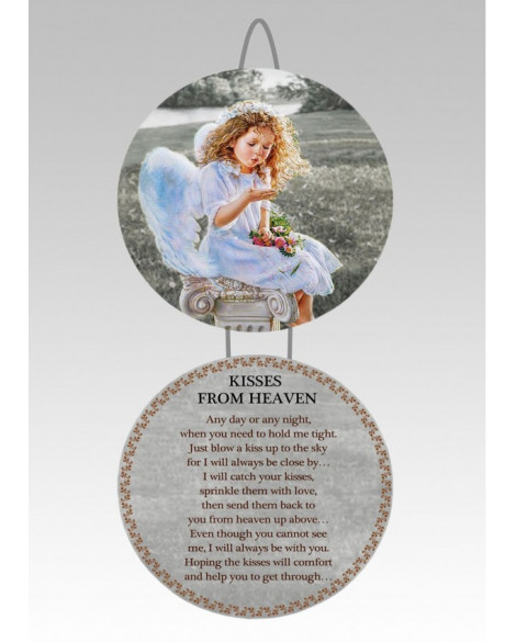 Angel Wall Double Plaque Home Accessories