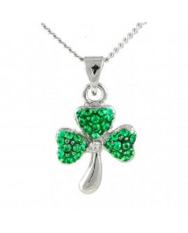 Lila Jewellery Shamrock Pendant