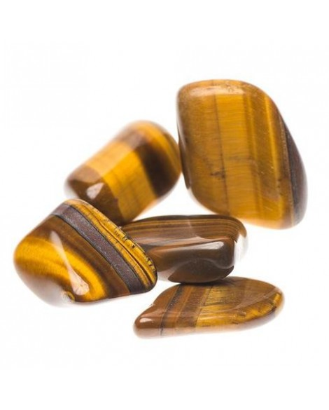 Gold Tiger Eye Tumble Stone