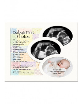 BABY SCAN & PHOTOS MEMORY MOUNT