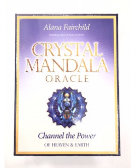 TAROT CARDS CRYSTAL MANDALA ORACLE