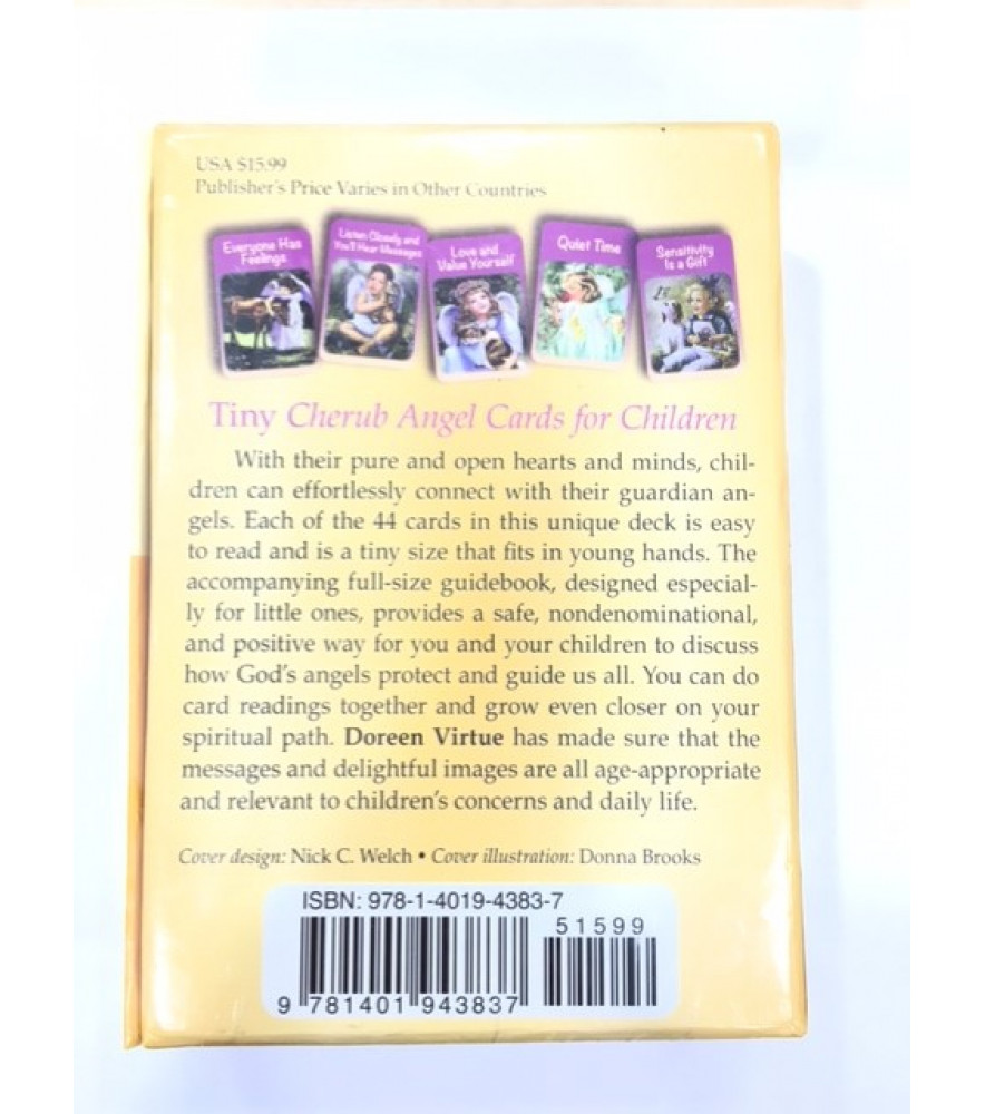 ANGEL TAROT CARDS FOR CHILDREN - CHERUB ANGELS