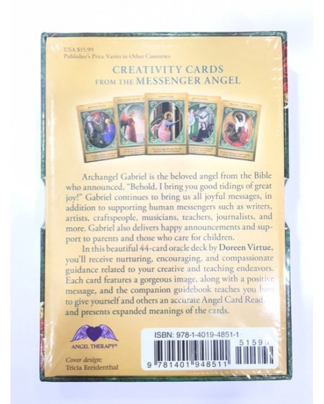 ANGEL TAROT CARDS - ARCHANGEL GABRIEL THE MESSENGER OF GOD