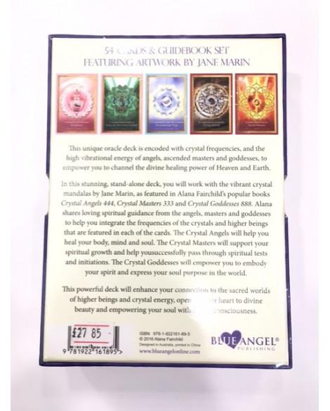 TAROT CARDS CRYSTAL MANDALA ORACLE